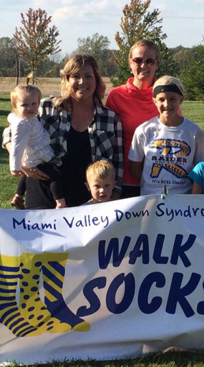 "MVDSA's ""Walk Your Socks Off"" event"